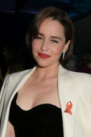 Emilia Clarke at SMS Battles Quiz for The MS Society in London 2019/05/16 1