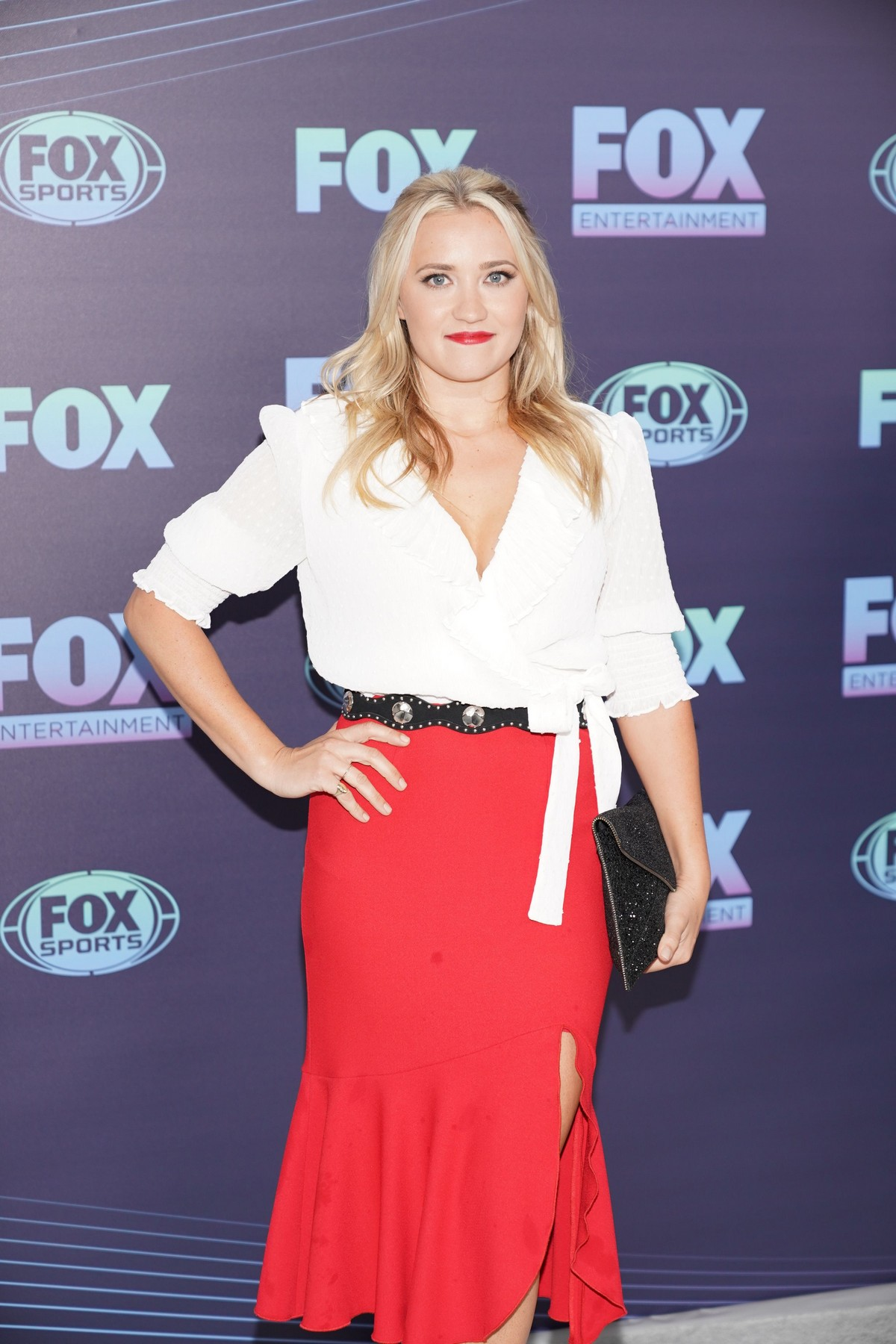 Emily Osment at Fox Upfront Presentation 2019 at Central Park Wollman Rink 2019/05/13 3
