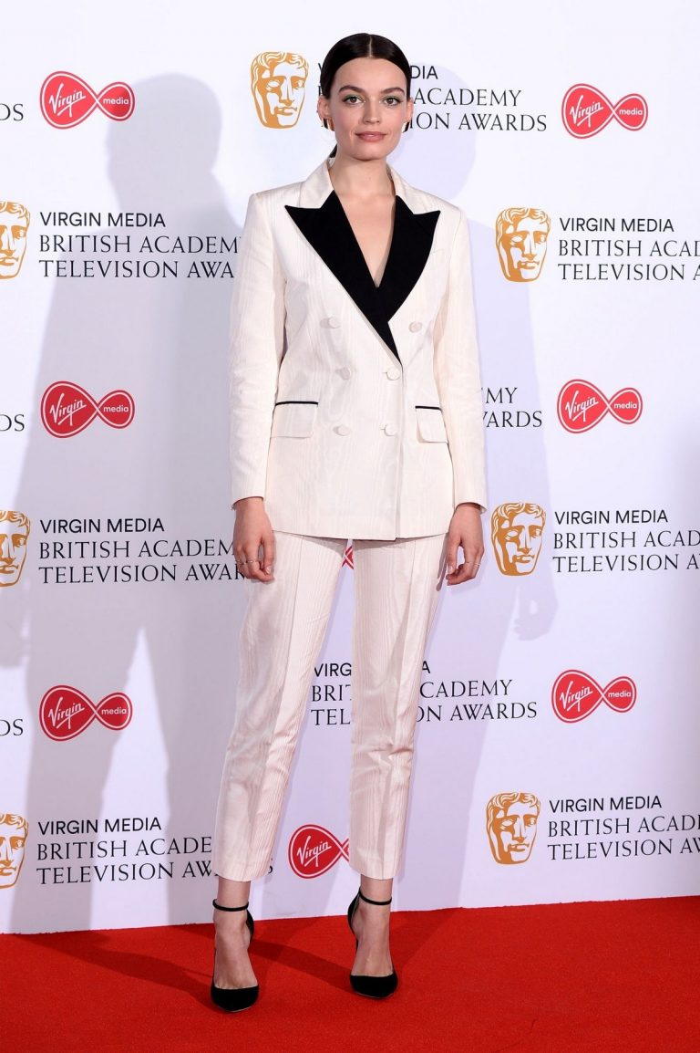 Emma Mackey at 2019 BAFTA Awards at Royal Festival Hall in London 2019/05/12 3