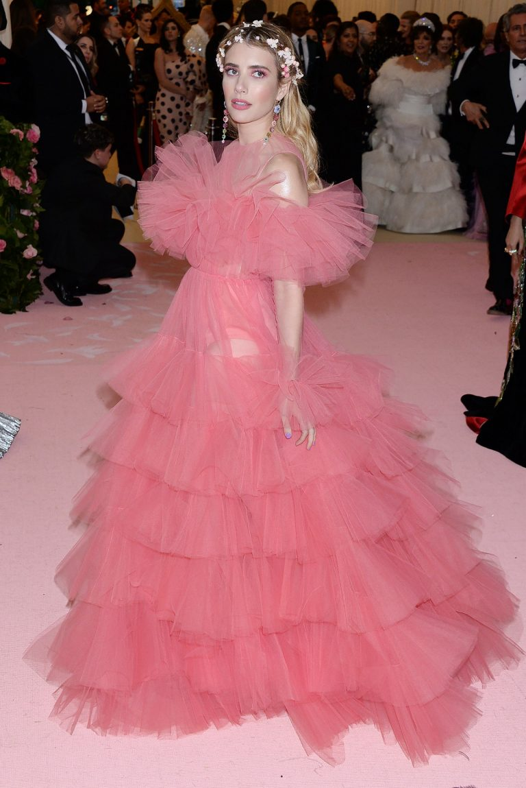 Emma Roberts at The 2019 Met Gala celebrating Camp: Notes on Fashion in New York City 2019/05/06 1