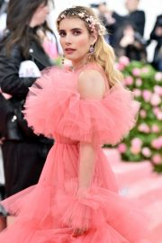 Emma Roberts at The 2019 Met Gala celebrating Camp: Notes on Fashion in New York City 2019/05/06 9