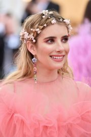 Emma Roberts at The 2019 Met Gala celebrating Camp: Notes on Fashion in New York City 2019/05/06 10