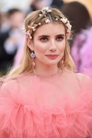Emma Roberts at The 2019 Met Gala celebrating Camp: Notes on Fashion in New York City 2019/05/06 11