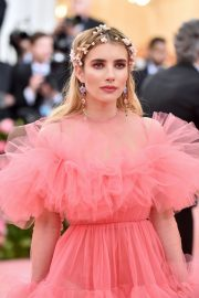 Emma Roberts at The 2019 Met Gala celebrating Camp: Notes on Fashion in New York City 2019/05/06 12