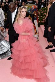 Emma Roberts at The 2019 Met Gala celebrating Camp: Notes on Fashion in New York City 2019/05/06 13