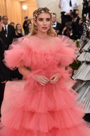 Emma Roberts at The 2019 Met Gala celebrating Camp: Notes on Fashion in New York City 2019/05/06 15