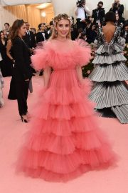 Emma Roberts at The 2019 Met Gala celebrating Camp: Notes on Fashion in New York City 2019/05/06 16