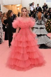 Emma Roberts at The 2019 Met Gala celebrating Camp: Notes on Fashion in New York City 2019/05/06 17