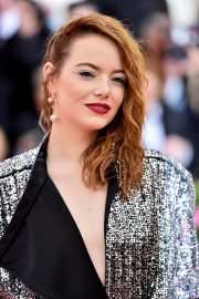 Emma Stone at The 2019 Met Gala Celebrating Camp: Notes on Fashion in New York 2019/05/06 8