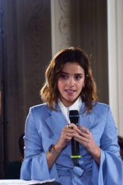 Emma Watson at G7 Equality Meeting in Paris 2019/05/10 2