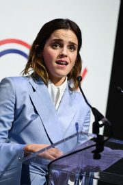 Emma Watson attends a Conference About Gender Equality in Paris 2019/05/10 5