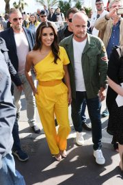 Eva Longoria in Yellow Outfit at 72nd Cannes Film Festival in Cannes 2019/05/15 4