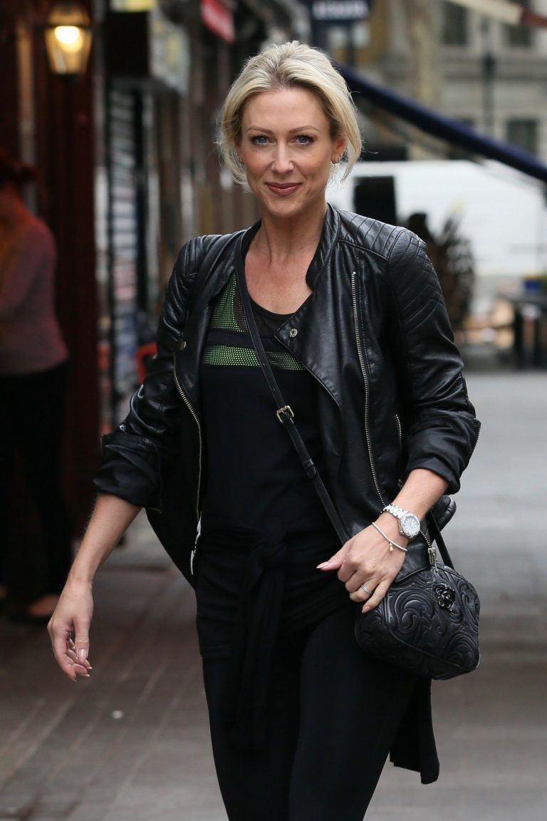 Faye Tozer at Global Radio Studios in London 2019/04/30 1