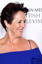 Fiona Shaw at 2019 BAFTA Awards at Royal Festival Hall in London 2019/05/12 3