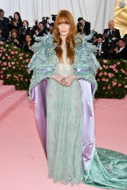 Florence Welch at The 2019 Met Gala Celebrating Camp: Notes on Fashion in New York 2019/05/06 2