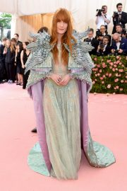 Florence Welch at The 2019 Met Gala Celebrating Camp: Notes on Fashion in New York 2019/05/06 3