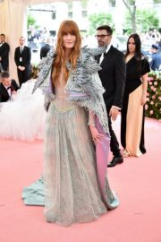 Florence Welch at The 2019 Met Gala Celebrating Camp: Notes on Fashion in New York 2019/05/06 4