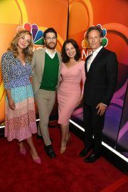 Fran Drescher, Abby Elliott, Steven Weber and Adam Pally at NBCUniversal 2019 Upfront Presentation 2019/05/13 1