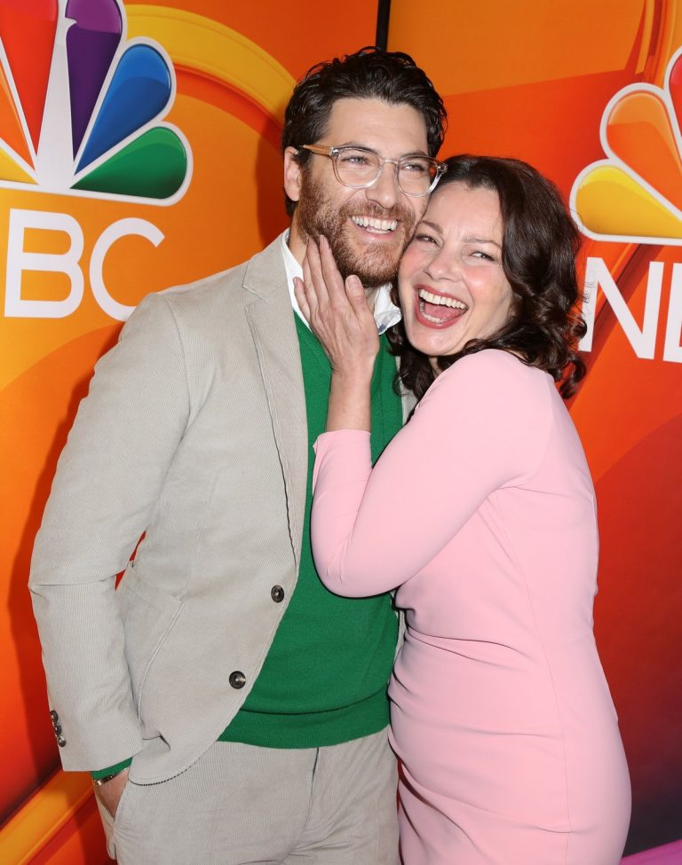 Fran Drescher and Adam Pally at NBCUniversal 2019 Upfront Presentation 2019/05/13 3