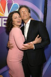 Fran Drescher and Steven Weber at NBCUniversal Upfront Presentation 2019/05/13 2