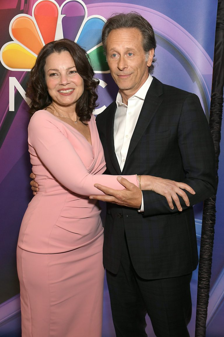 Fran Drescher and Steven Weber at NBCUniversal Upfront Presentation 2019/05/13 6