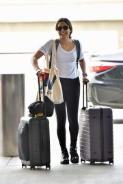 Freida Pinto Out at LAX Airport in Los Angeles 2019/05/02 10