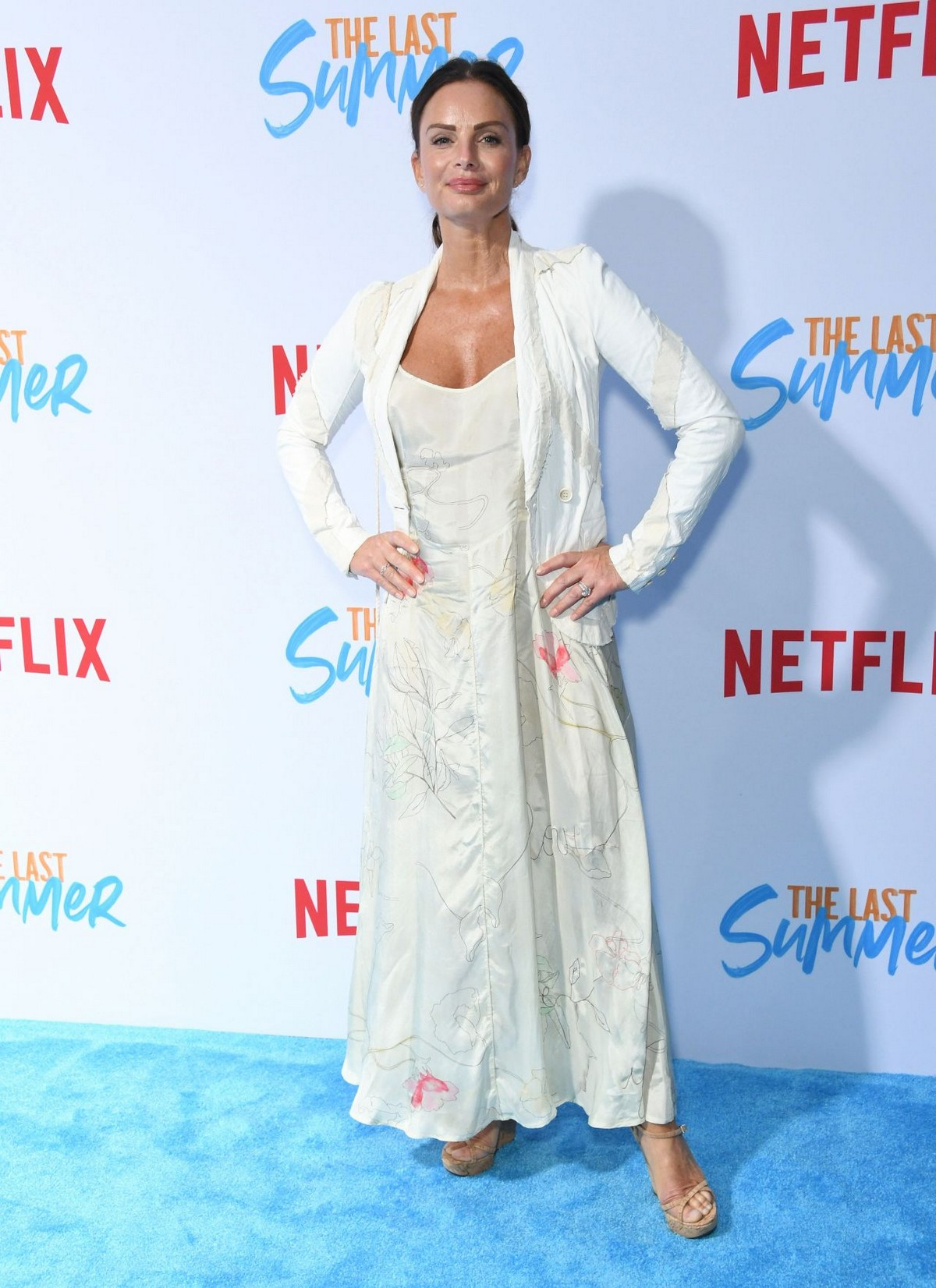 "Gabrielle Anwar at Netflix's ""The Last Summer"" Special Screening in Hollywood 2019/04/29 1"