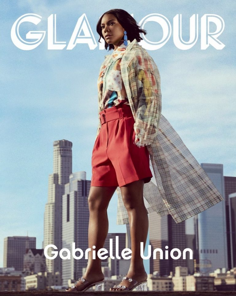Gabrielle Union Cover Photoshoot for US Glamour Magazine, May 2019 2