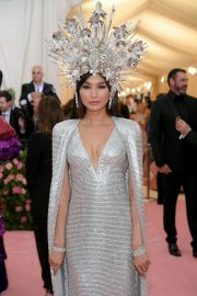 Gemma Chan at The Mark Hotel for the 2019 'Camp: Notes on Fashion' Met Gala in New York 2019/05/06 2