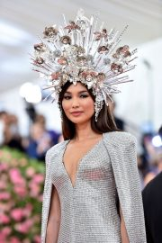 Gemma Chan at The Mark Hotel for the 2019 'Camp: Notes on Fashion' Met Gala in New York 2019/05/06 9