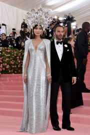 Gemma Chan at The Mark Hotel for the 2019 'Camp: Notes on Fashion' Met Gala in New York 2019/05/06 11