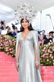 Gemma Chan at The Mark Hotel for the 2019 'Camp: Notes on Fashion' Met Gala in New York 2019/05/06 12