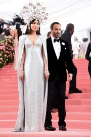 Gemma Chan at The Mark Hotel for the 2019 'Camp: Notes on Fashion' Met Gala in New York 2019/05/06 13