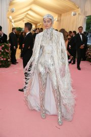 Gigi Hadid at The 2019 Met Gala Celebrating Camp: Notes on Fashion in New York 2019/05/06 1
