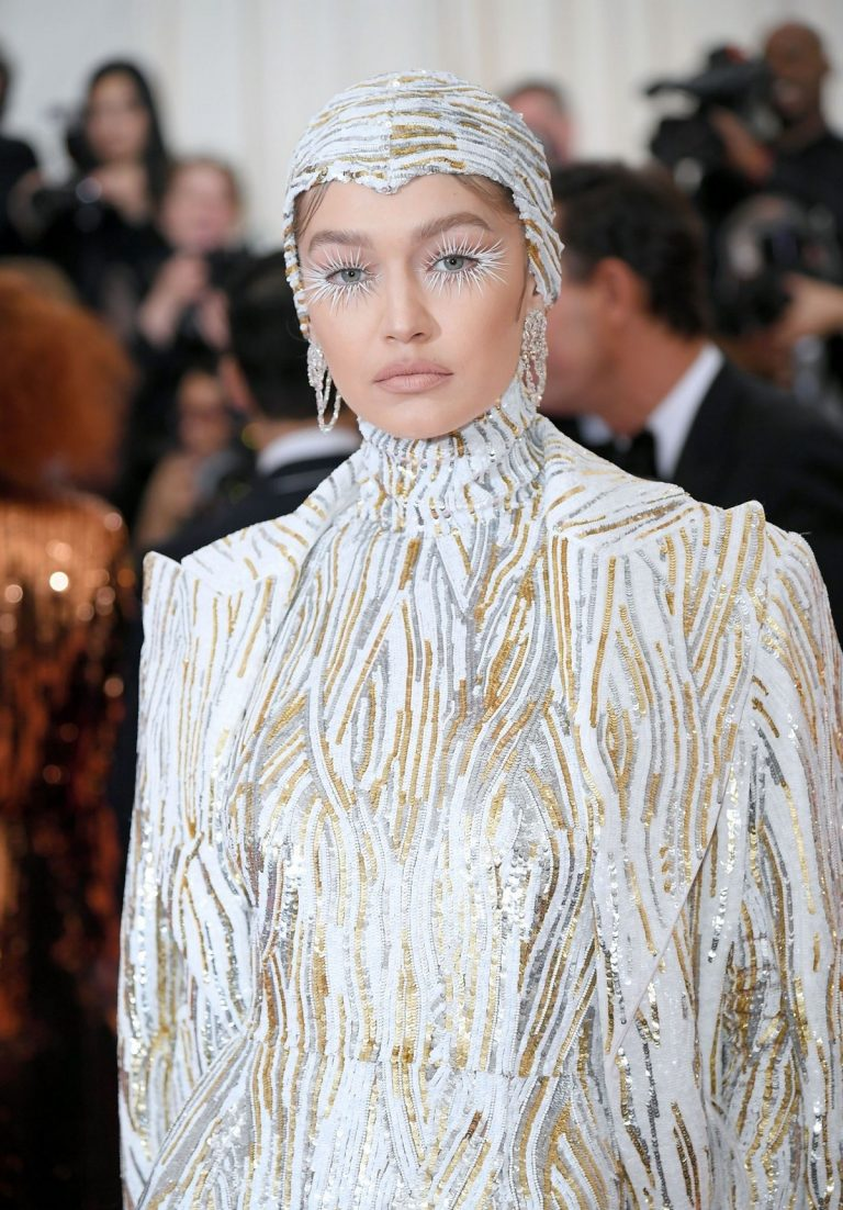 Gigi Hadid at The 2019 Met Gala Celebrating Camp: Notes on Fashion in New York 2019/05/06 3