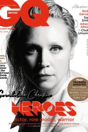 Gwendoline Christie Cover Photoshoot for GQ UK Magazine, June 2019 4