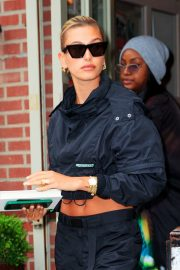 Hailey Baldwin and Justine Skye Go to Lunch in New York 2019/04/30 2