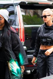 Hailey Baldwin and Justine Skye Go to Lunch in New York 2019/04/30 4