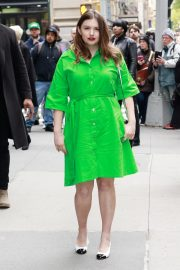 Hannah Murray Arrives at AOL's Build Series in New York City 2019/05/01 1
