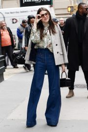 Hannah Murray Arrives at AOL's Build Series in New York City 2019/05/01 4