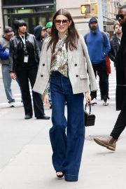 Hannah Murray Arrives at AOL's Build Series in New York City 2019/05/01 6