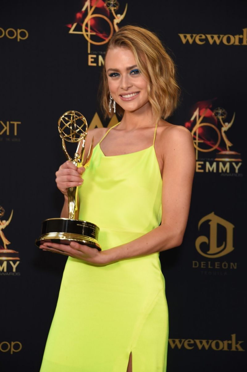 Hayley Erin at Daytime Emmy Awards 2019 in Pasadena 2019/05/05 8