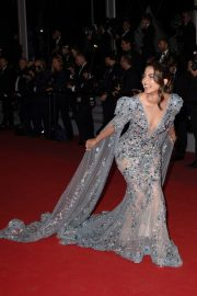 "Hina Khan at Screening of ""Bacurau"" at The 72nd annual Cannes Film Festival 2019/05/15 4"