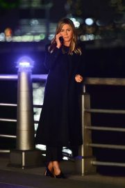 Jennifer Aniston Late Night Shoot for Her Upcoming Movie 2019/05/10 13