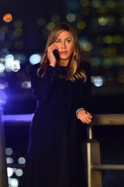 Jennifer Aniston Late Night Shoot for Her Upcoming Movie 2019/05/10 14