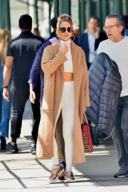 """Jennifer Lopez Out to Film """"Hustlers"""" in New York 2019/05/02 2"""