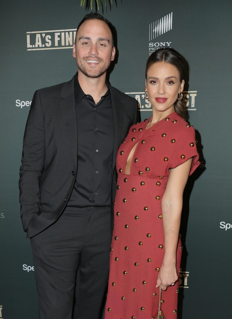 """Jessica Alba and Joshua Alba at """"L.A.'s Finest"""" Premiere in West Hollywood 2019/05/10 1"""