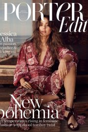 Jessica Alba Cover Photoshoot for The Edit by Net-A-Porter Magazine, May 2019 9