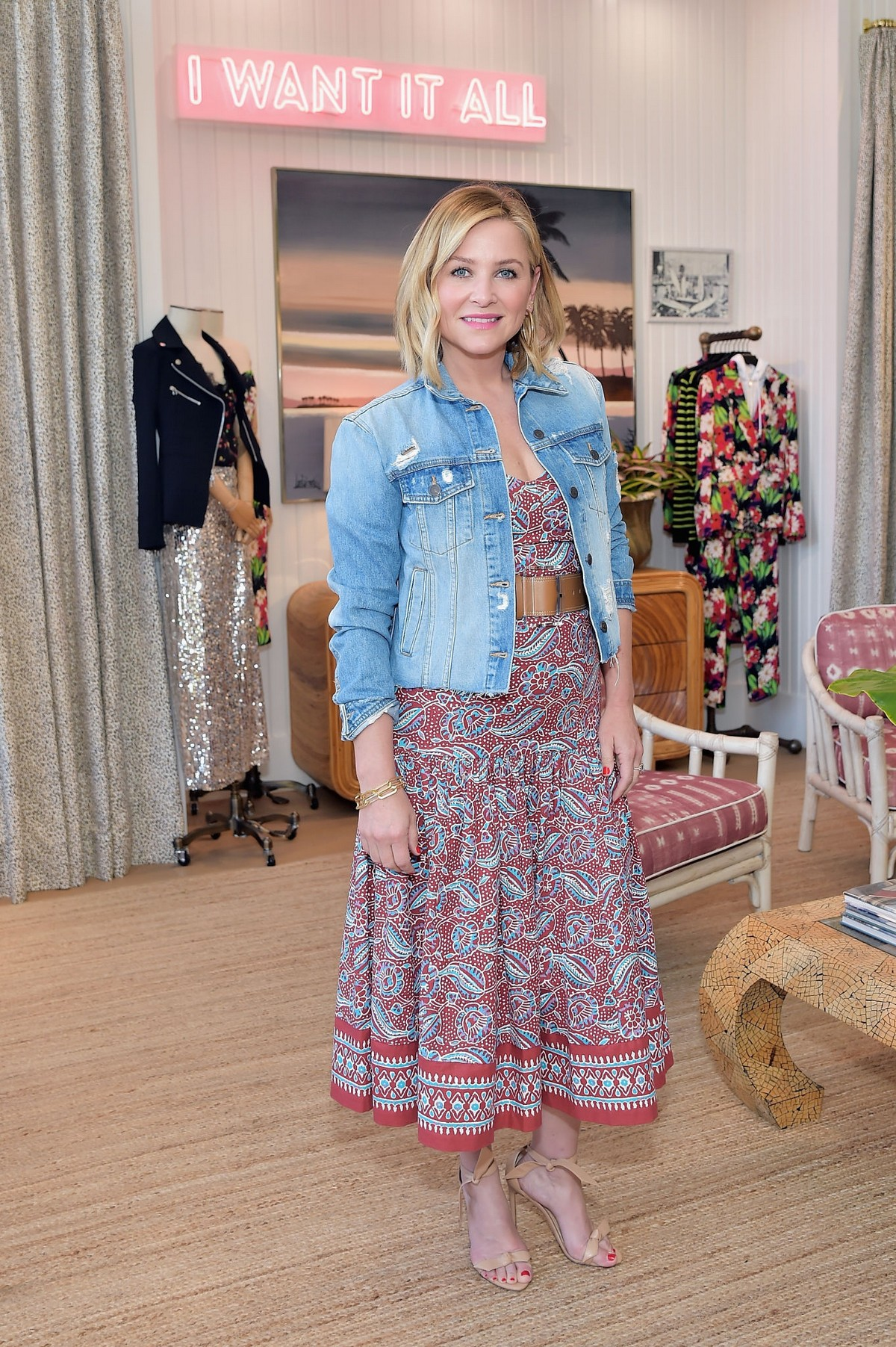 Jessica Capshaw Attends Veronica Beard Pacific Palisades Store Opening Party 2019/04/30 3