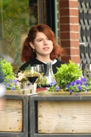 Jessie Buckley at Il Buco Restaurant in the East Village in New York City 2019/04/29 1